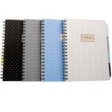 Спиральная жесткий футляр ноутбук с Custom дневник, бумага книги