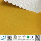 100% piel sintética PU PU sofá de cuero sintético para