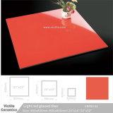 De oranje Zuivere Kleur Opgepoetste Porselein Verglaasde Tegel van de Muur van de Vloer (VRP6I105, 600X600mm/24 '' x24 '')