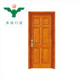 [زهجينغ] [يوجي] صناعة عمليّة بيع حارّة خشبيّة صلبة باب خشب باب