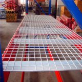 Lager-Metalljustierbares Racking mit Draht-Schicht-Vorstand für Speicherung