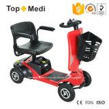 2017 rotella calda di vendita 4 che piega il motorino Disabled elettrico di mobilità per gli anziani