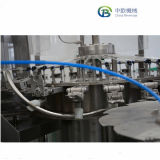 As vendas a quente de fábrica pequena máquina de enchimento de bebidas carbonatadas para garrafa de vidro