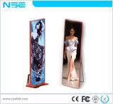 Halb-Im Freien P3 Digital LED Plakat mit druckgießenschrank