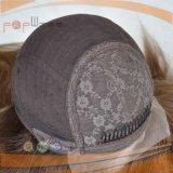 100% seda cabello virgen de la parte superior delantera encaje peluca (PPG-L-01470)