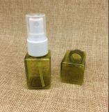 botella plástica del aerosol del cuadrado del animal doméstico 25ml mini