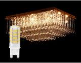 Mini LED G9 Ampoule de lampe de feu de cristal ou au four