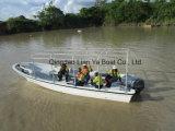 7.6mの10personsガラス繊維の漁船の出荷のボートの輸送のボート