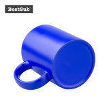11oz昇華カラー変更のマグ(青い)