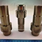 CNC que trabaja a máquina componentes modificados para requisitos particulares del metal de la capa del níquel del cilindro