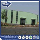 Qingdao 고강도 가벼운 강철 Strcture 건물 작업장은 Prefabricated 집 창고를 흘렸다