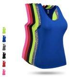 Multicolors женских сухой установите верхнюю часть бака, быстрой сушки йога износа, фитнес-износа
