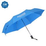 Горячая продажа 21дюйма автоматическая открытой рекламы пользовательских складывание зонтик