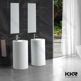 Meubles de salle de bains Surface solide de la pierre artificielle bassin rectangulaire
