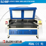 Вырезывание и гравировальный станок лазера ткани автоматическое подавая