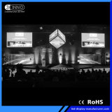 Wand-Bildschirmanzeige P4.81mm hohe graue Schuppe RGB-LED