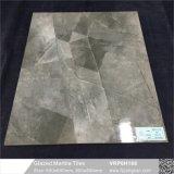 灰色カラーによって艶をかけられる大理石の磨かれた磁器の床タイル(VRP6H041)