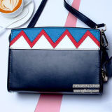 handbag Color Collision 승진 숙녀 어깨에 매는 가방 고명한 상표 여가 여자 가죽 가방 Emg5207