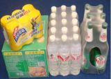 De PP automática de calor PE POF filme de PVC shrink wrapping Machine para garrafas, latas, frascos de tijolos