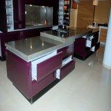 Gabinete de cozinha moderno colorido da mobília