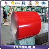 Bobina d'acciaio galvanizzata preverniciata per gli strati del tetto del metallo (CZ-P01)