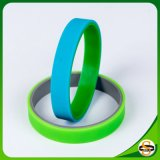 Kundenspezifisches Firmenzeichen mischte kundenspezifisches Gummifirmenzeichen geprägten SilikonWristband