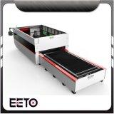 Het Knipsel van de Laser van de Vezel van de Reclame van Eeto/de Machine van de Snijder voor het Embleem van het Metaal