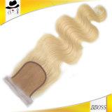 Chiusura superiore brasiliana 4X4 di colore dorato dell'onda del corpo