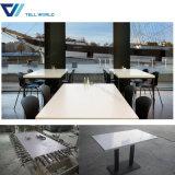 マクドナルドの家具の大理石の上のダイニングテーブルデザイン