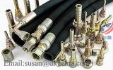 Manguito de alta presión del SAE 100 R1at R2at En853 1sn del manguito del manguito de goma industrial hidráulico del manguito