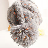 Kundenspezifischer Form Hight Qunlity Winter-Frauenbeanie-Hut
