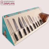 Hotsale 승진 사면 위원회 나무로 되는 칼 또는 부엌 공구 전시 상자