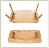 Pequeño vector de té plegable de madera sólida