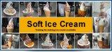 Bq332 3 grande macchina del gelato di morbidezza del yogurt Frozen di capienza di sapore (2+1Twist)