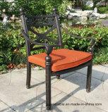 새로운 정원 주조 알루미늄 옥외 정지되는 의자 가구
