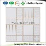 La elegancia de Recubrimiento de rodillos de aluminio de techo techo decorativo de la Junta de impresión