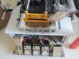 Troqueladora de la hoja caliente neumática de la tarjeta de visita Tam-90-2 para el cuero plástico de papel
