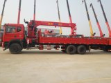 Eine 30 Tonnen-hing hydraulischer teleskopischer Hochkonjunktur-LKW Kran-LKW eingehangenen Kran/Hochkonjunktur-Kran/Lastwagen eingehangenen Kran/gegliederten Kran-LKW/LKW eingehangenen Hochkonjunktur-Aufzug ein