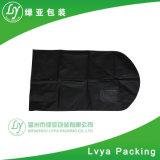 Sacchetto di indumento non tessuto ecologico personalizzato, coperchi pieghevoli del vestito dell'indumento