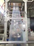 単一ねじHDPE LDPE LLDPEのフィルムの吹く機械(プラスチック押出機)