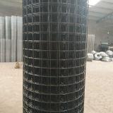 Schwarzes Farbe Kurbelgehäuse-Belüftung beschichtete Galvano galvanisierten geschweißten Maschendraht Rolls