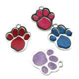 Новая конструкция два боковых печать логотипа Custom металлические собака тег индекса для продаж