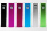 Chargeur mobile de Powerbank de tube de côté de pouvoir de Cargador 2600mAh d'accessoires