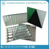 Здание окна двойной цилиндрический смешайте цветной телевизор с плоским закаленное стекло Clear