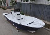 barca di pesca marittima della vetroresina di 5.8m con i motori esterni