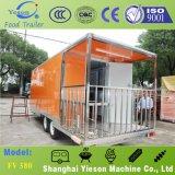 Caravana de encargo de los alimentos de preparación rápida de Yieson para el anuncio publicitario