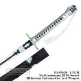 Nier: Arma virtuoso 115cm do contrato dos autômatos 2b 9s Sword2b Katana