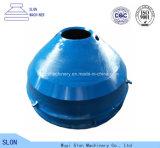 凹面マンガン鋼鉄Minyu Msp300およびふたの円錐形の粉砕機の部品