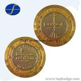 승진 주문 금속은 도매 기념품 동전 싼 도전 동전을 화폐로 주조한다