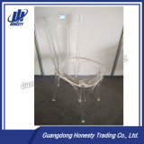 Silla de acrílico transparente de los bistros 1000#, silla de la barra